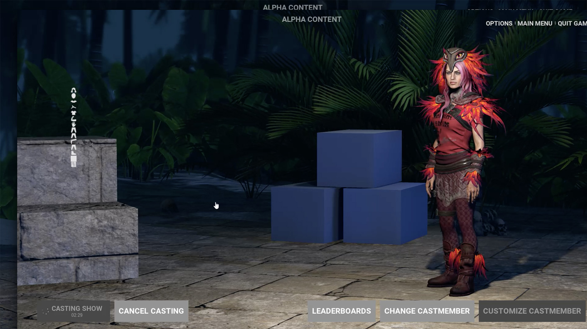 GameShow-CharacterCustomization